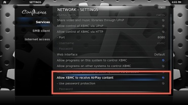 Send AirPlay Video to a Mac, PC, or TV with XBMC | OSX Daily