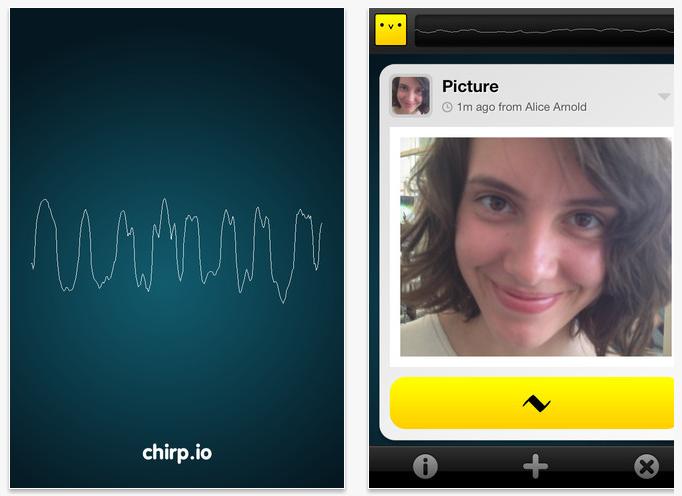 Chirp Screen Shots